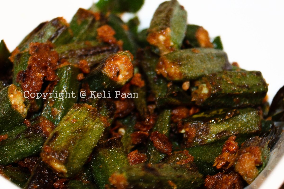 Bhindi Fry/Lady's Finger Fry