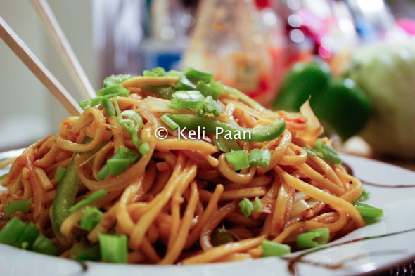 Thai Sweet Chilli Vegetable Noodles