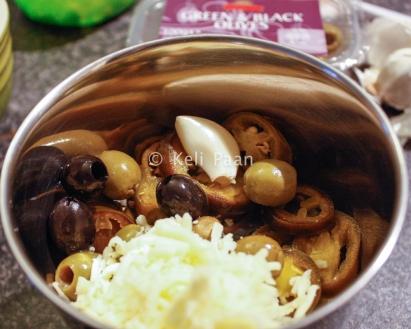 JOG & Cheese paste ingredients