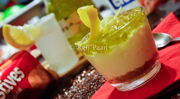 Lime n Lemon Cheesecake Pots