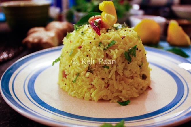 Lemon flavoured Rice