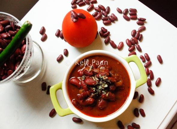 Indian Kidney Bean curry/Rajma