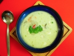 Coconuty Mushroom Lemongrass soup
