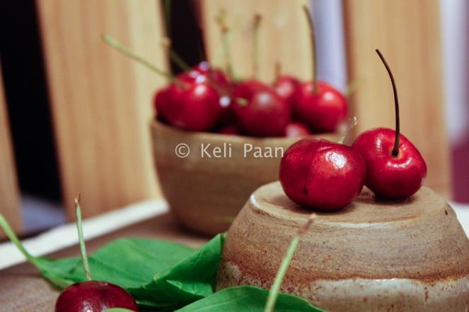 Fresh Cherry's n Basil