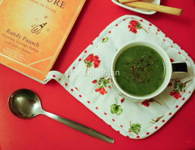 Spinach Soup with Potato