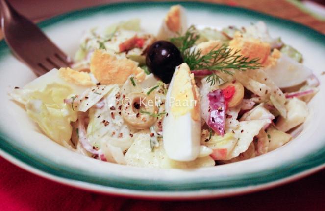 Egg & Apple salad