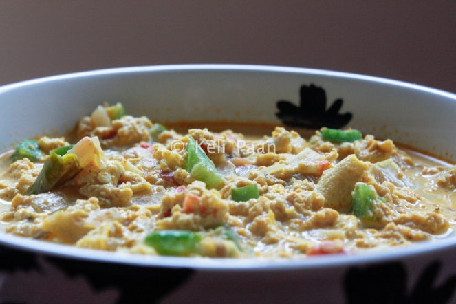 Scrambled Egg Curry