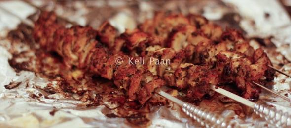 Grilled pork...