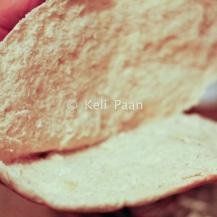 Pita bread pockets opened & lightly toasted...