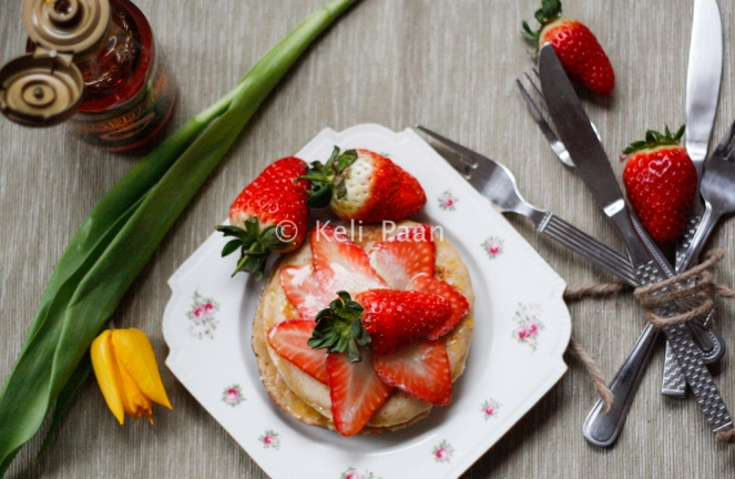 Strawberry Pancakes...