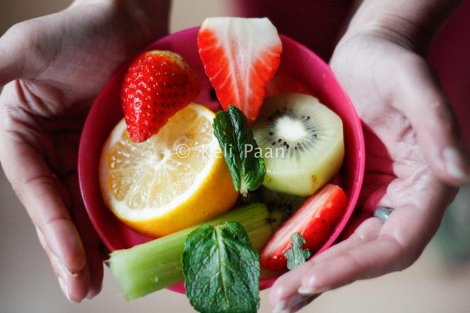 Cut fruits....