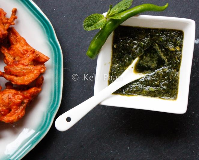 Green Chutney/Mint Coriander chutney/Dip