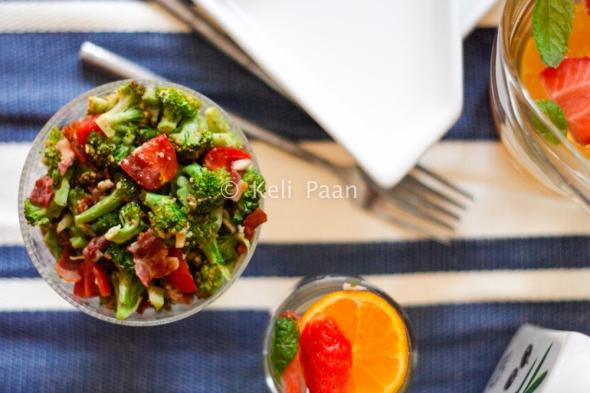 Broccoli & Bacon Salad..