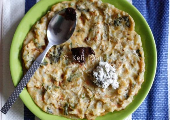 Akki Rotti/Savoury Rice Pancakes from Karnataka..