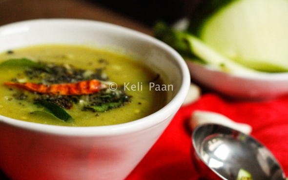 Raw Mango Dal/Pappu..