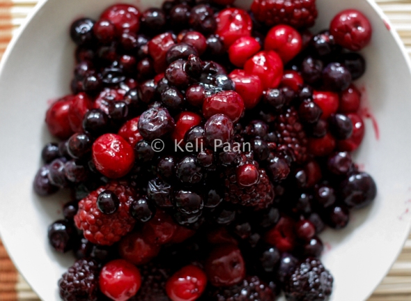 Black forest fruits mix...