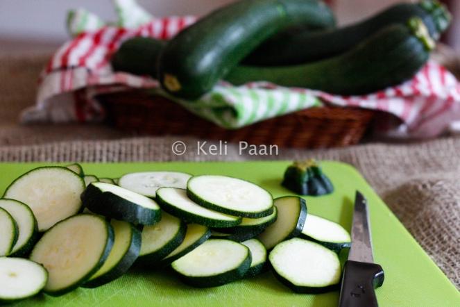 Sliced Courgette/Zucchini...