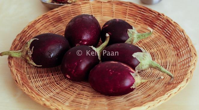 Small Purple Brinjal/Eggplants/Aubergines..
