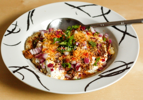 :) That's what Aloo Tikki Chole Chaat looks like…