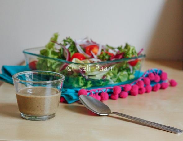 Homemade Olive Lemon Salad dressing...