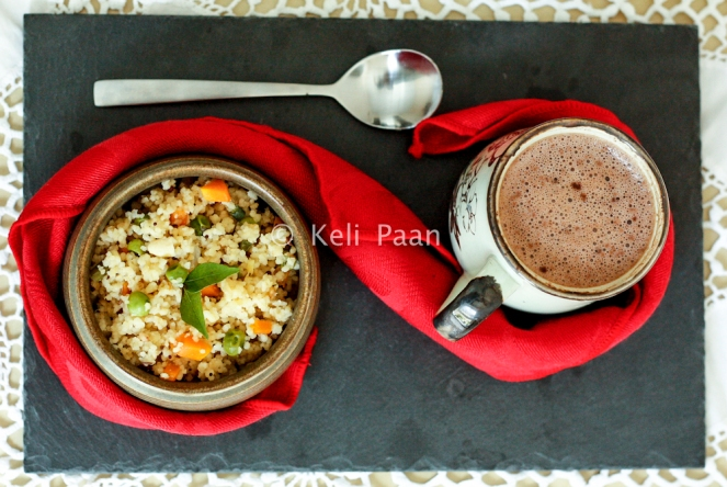 Mix-Veg Couscous Upma...