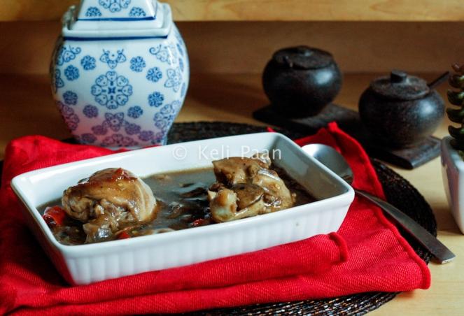 Chicken & mushroom in Hoisen sauce...