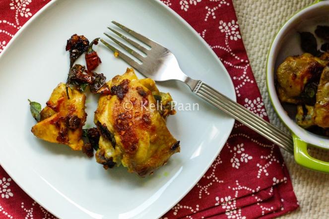 Turmeric/Haldi chicken fry...