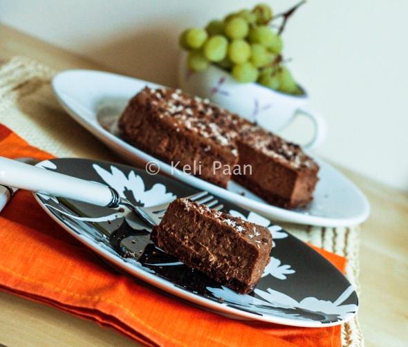 Dark Chocolate & Mocha Cheesecake with Rum...