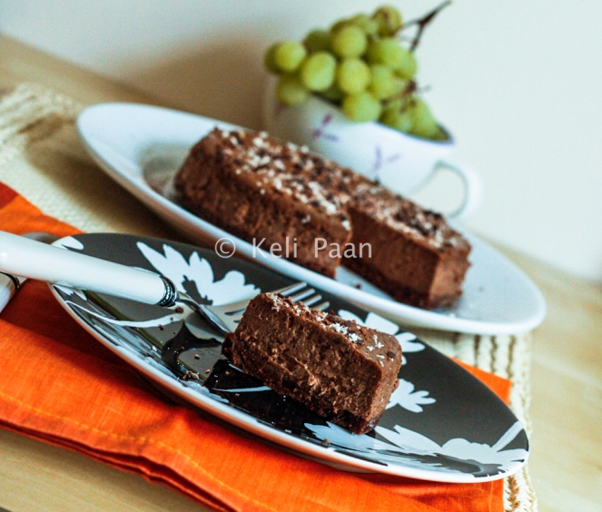 Dark Chocolate & Mocha Cheesecake with Rum...