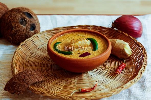 Alle Piyava Ghashi/Konkani style Fish curry..