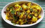 The Versatile Aloo/Potato Bhaji - South Indian style