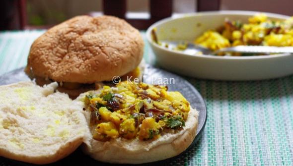 Aloo Masala burgers..