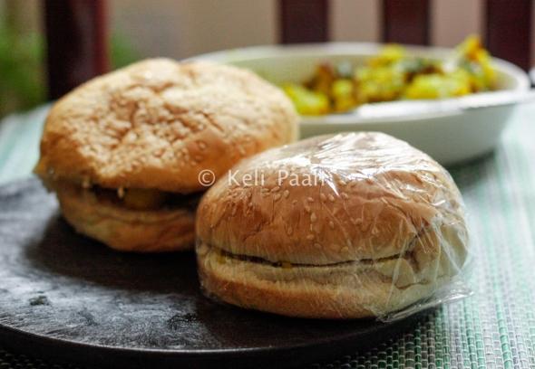 Aloo Masala Burger..