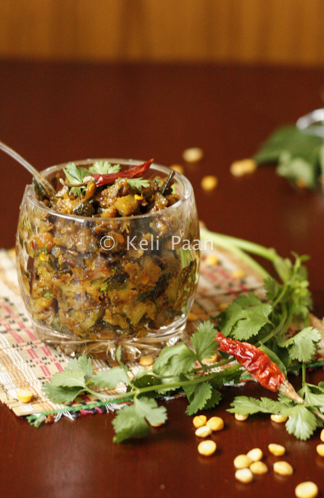 Courgette/Zucchini Thokku...