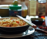 Lemon thyme flavoured Chilli fried rice...