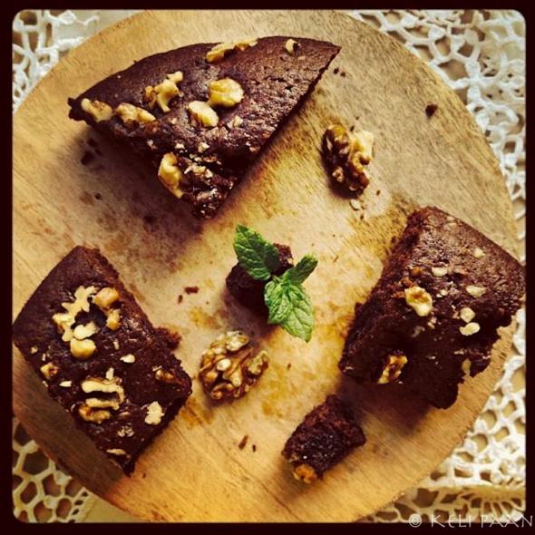 Choco-walnut Brownie....