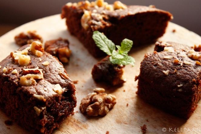 Choco Walnut Brownies..