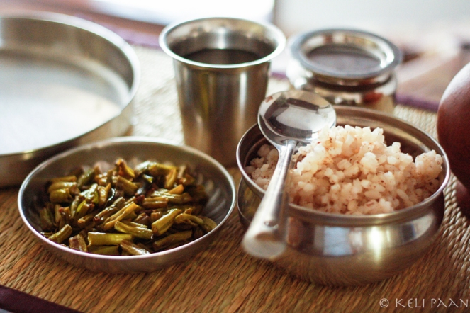 Alsande/Cowpea beans stir fry…