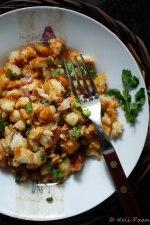 Breadtata Upkari - a Breadda upkari with a twist of mashed potato