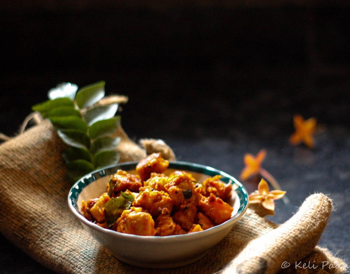 Taro/Arbi/Alva Manda Masala Stir Fry