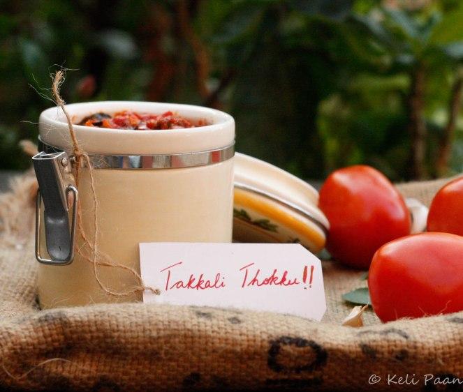 Takkali/Tomato Thokku