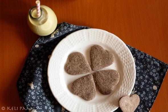 Gluten free - Ragi/Finger Millet biscuits....