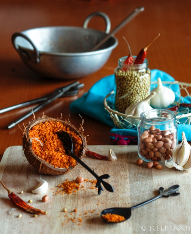 Lahsun/Garlic Chutney - Maharashtrian style