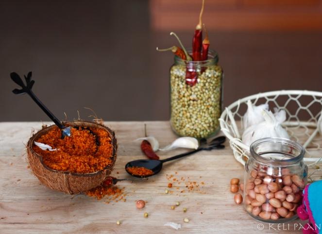 Lahsun/Garlic Chutney...