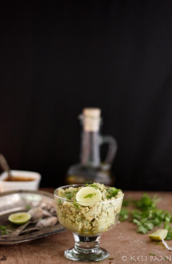 Lemon-Coriander Hummus...