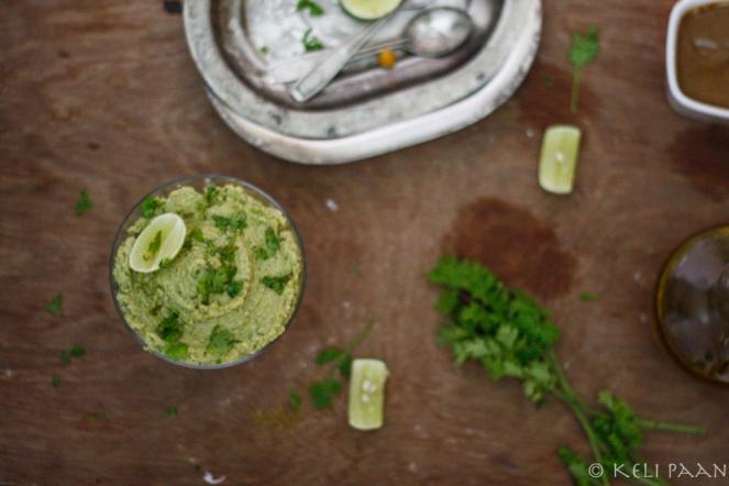 Lemon-Coriander Hummus......