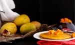 Spiced Mango Pancakes..