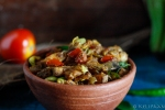 Raw Banana stir fry - Indian flavours