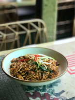 Spicy Chilli Basil Noodles..